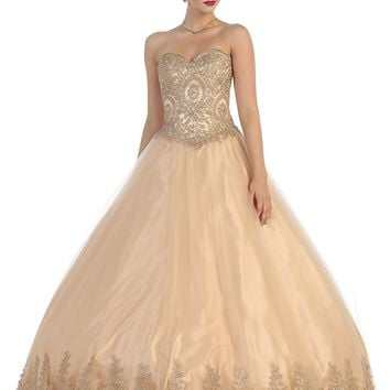 Quinceanera Dresses Formal Prom Ball Gown