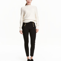 H&M Pants with Metal Buttons $39.99
