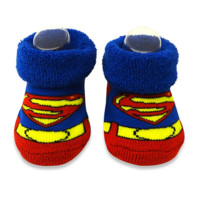 Rising Star 2-Pack Superman Bootie Set
