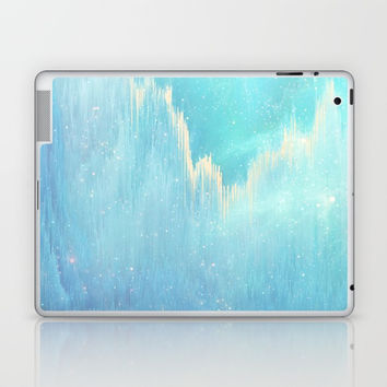 Blue Dreamscape Laptop & iPad Skin by printapix