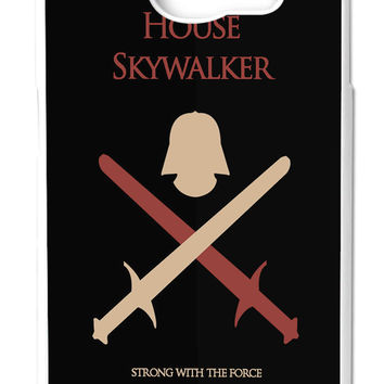 Star Wars House Skywalker Strong With The Force Samsung Galaxy S6 Cases - Hard Plastic, Rubber Case