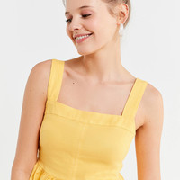 UO Beckett Square-Neck Peplum Cami | Urban Outfitters