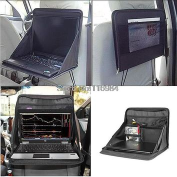 Car Laptop Holder Tray Mounts Back Seat Auto work desk