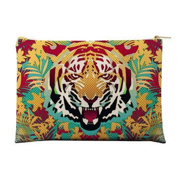 Hypnotic Tiger Pouch