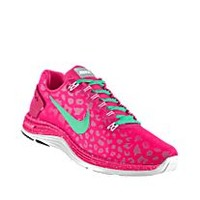 Nike LunarGlide 5 Shield iD Custom Women's Running Shoes - Pink