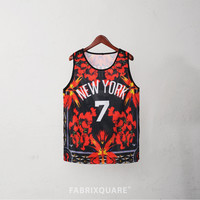 XQUARE 23 New York Net Relaxed Fit Jersey Tank Top