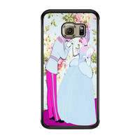 Cinderella Floral Party Samsung Galaxy S6 Edge Case