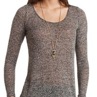 MARLED CAGED-BACK TOP