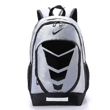 Day-First™ Nike Pattern Casual Travel Daypack Laptop Shoulder School Business Backpack Bag