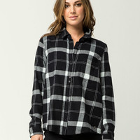 ROXY Heavy Feelings Womens Flannel Shirt
