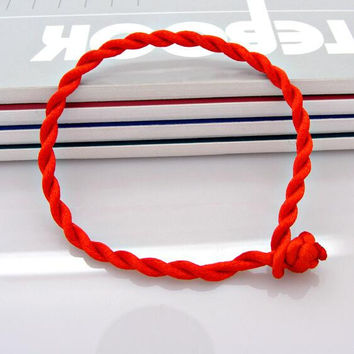 New Men Bracelet Red Rope Bangle Lucky Bracelets for Women Cord String Line Classic Handmade Jewelry For Couple Lover Gift