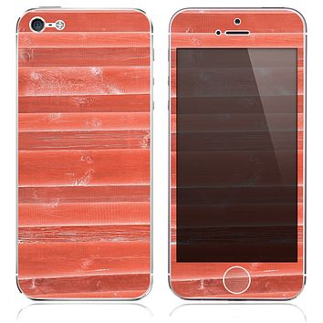 The Inverted Wood Planks V6 Skin for the iPhone 3, 4-4s, 5-5s or 5c