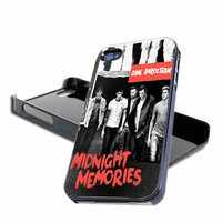One Direction Midnight Memories New Album For iPhone 4/4s And iPhone 5 Case, Samsung Galaxy S3 i9300 And Samsung Galaxy S4 9500