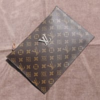 LV men's single shoulder bag export slant bag hanging bag zipper Korean version of casual small backpack