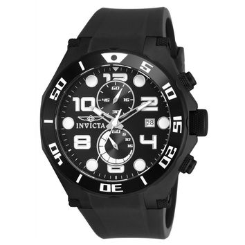 Invicta Men's 15397 Pro Diver Quartz Multifunction Black Dial Watch