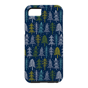 Heather Dutton Oh Christmas Tree Midnight Cell Phone Case