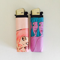 Two Faced Lighter Set