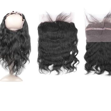 360 Body Wave Lace Frontal - Pre Plucked