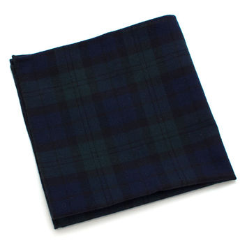 Black Watch Plaid Pocket Square