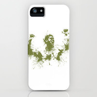 Jo-Wilfried Tsonga Wimbledon Tennis iPhone & iPod Case by DanielBergerDesign