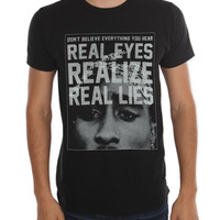 Tupac Real Lies T-Shirt