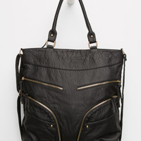 Julianna Zipper Tote Bag