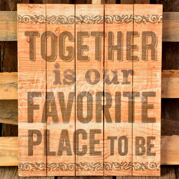 TOGETHER PALLET ART