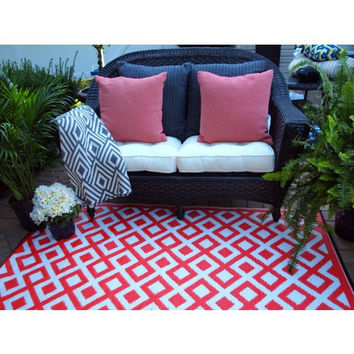 Indoor/Outdoor Rug Cherry