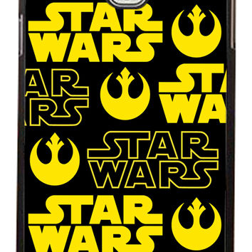 Star Wars Rebel Logo Samsung Galaxy Note 3 Cases - Hard Plastic, Rubber Case