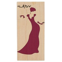Hash tag lady wooden USB drive Wood USB 2.0 Flash Drive