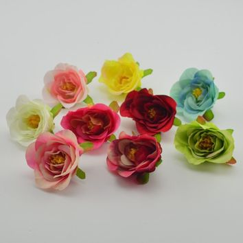 1pcs cheap handmade silk roses wedding party party decorations wedding decorations wedding gifts clip art artificial art flower