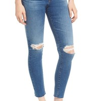 AG The Farrah High Waist Ankle Skinny Jeans (13 Year Saltwater) | Nordstrom