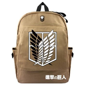 Cool Attack on Titan   / Fairy Tali / Harry Potter / Bendy And The Ink Machine Backpack Boy And Girly School Bags AT_90_11