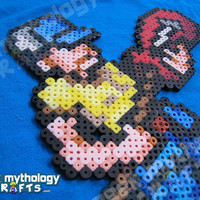 Ellis Left 4 Dead 2 Video Game Custom 8bit Bead Sprite