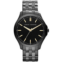 AX Armani Exchange Stainless Steel 3-Hand Watch - Black