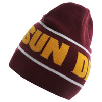 Arizona State Sun Devils Nike 2014 Player Knit Beanie – Maroon