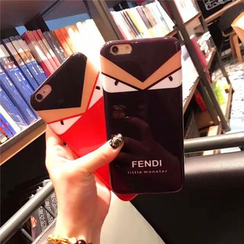 Fendi Cover Cases for apple iphone 7 6 6s plus luxury Back Cover TPU For iPhone7Plus