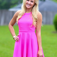 Triple Threat Dress - Pink