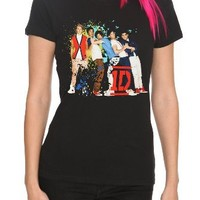 One Direction Splatter Girls T-Shirt
