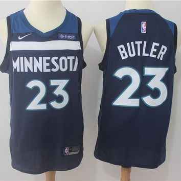 Best Deal Online NBA Basketball Swingman Jerseys Minnesota Timberwolves #23 Jimmy Butler  Navy