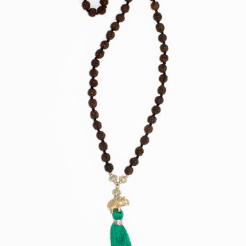 Mala Elephant Necklace - Protection