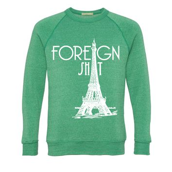 Green Foreign Shit Sweater