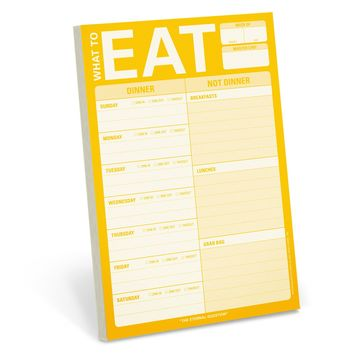 What To Eat Pad with Magnet