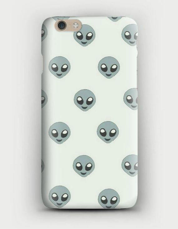 ALIEN EMOJI IPhone 5, 5s, 6, 6 Plus, From WreckedVibes