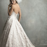 Beaded Lace Gown by Allure Bridals Couture