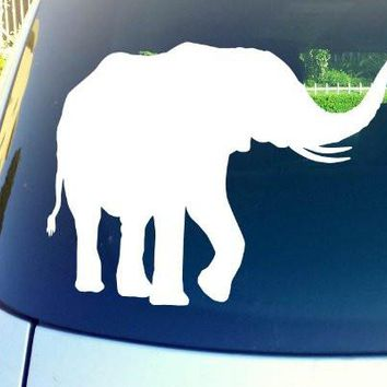 African Elephant Logo Vinyl Sticker Decal Car Truck Windon Wall Laptop notebook