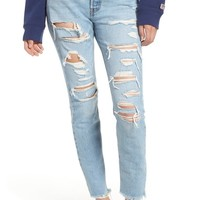 Levi's® 501® Ripped High Waist Skinny Jeans (Thrashed) | Nordstrom