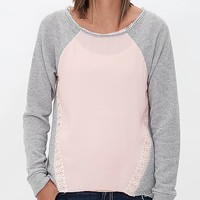 Daytrip Pieced Sweatshirt