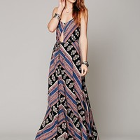Free People Maheya Tapestry Maxi