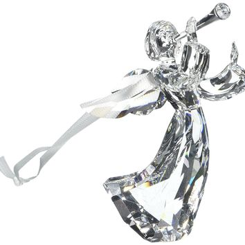 Swarovski Clear Crystal Christmas Ornament ANGEL ORNAMENT 2016 #5215541
